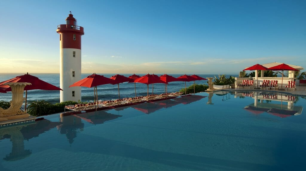 Pool, The Oyster Box, Durban, South Africa