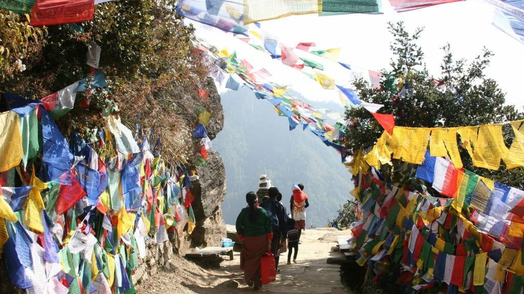 Prayer Flags, Bhutan