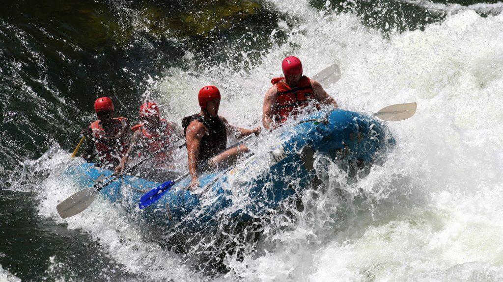 Rafting, Victoria Falls, Zimbabwe