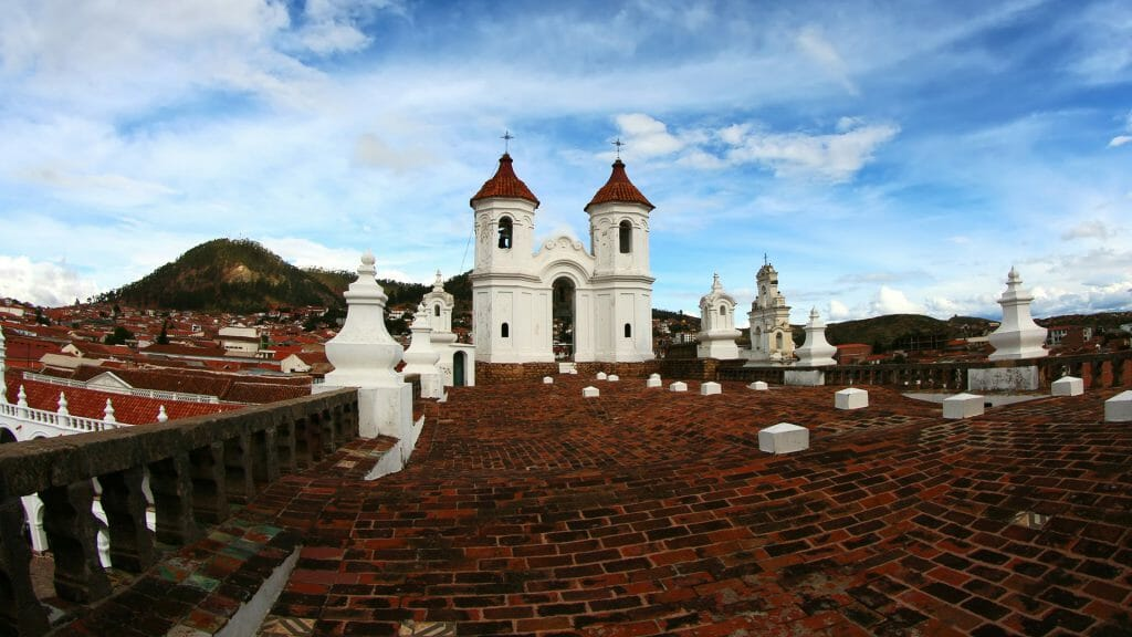 Rooftops, Sucre, Bolivia