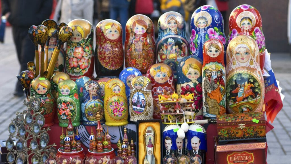 Russian Dolls, Russia