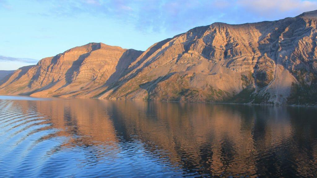 Saglek Bay reflection, Torngats, Labrador, Canadian Arctic