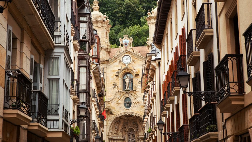 San Sebastian Old Town, The Basque Country, Spain 232551943
