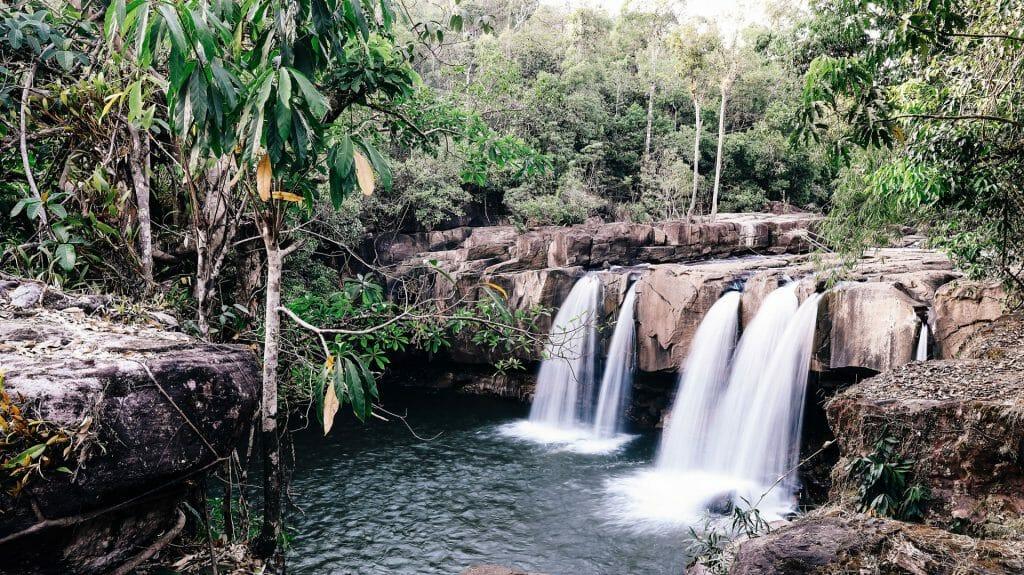 Shinta Mani Wild, Waterfall, Cardamom Mountains, Cambodia