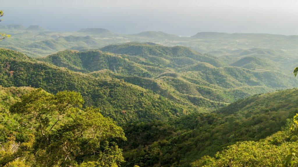 Sierra Maestra Mountain Range, Cuba