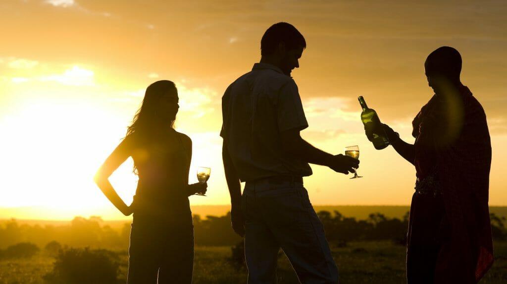 Sundowner, Kicheche Bush Camp, Masai Mara
