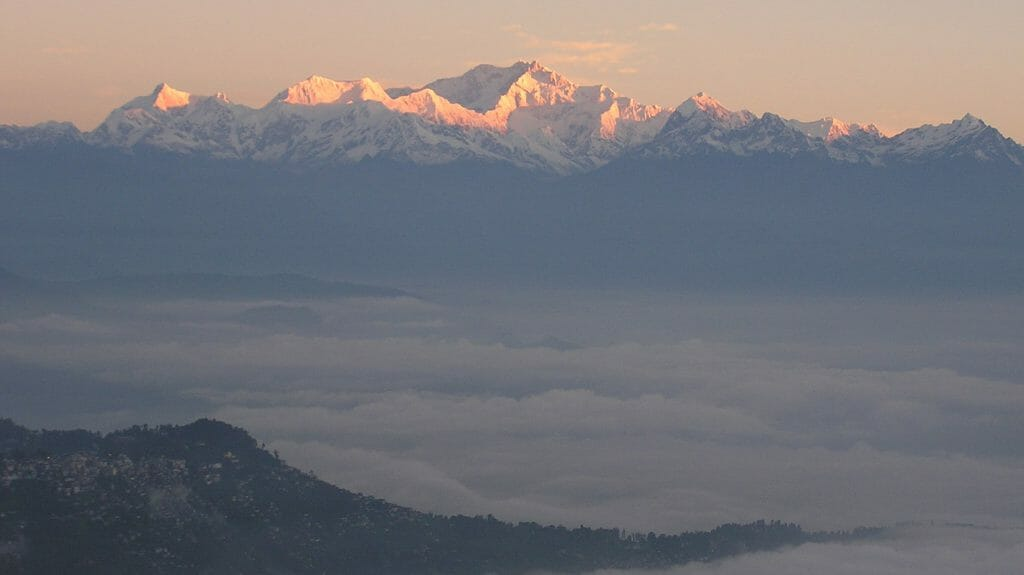 Sunrise, Mount Kanchenjunga, Sikkim, India
