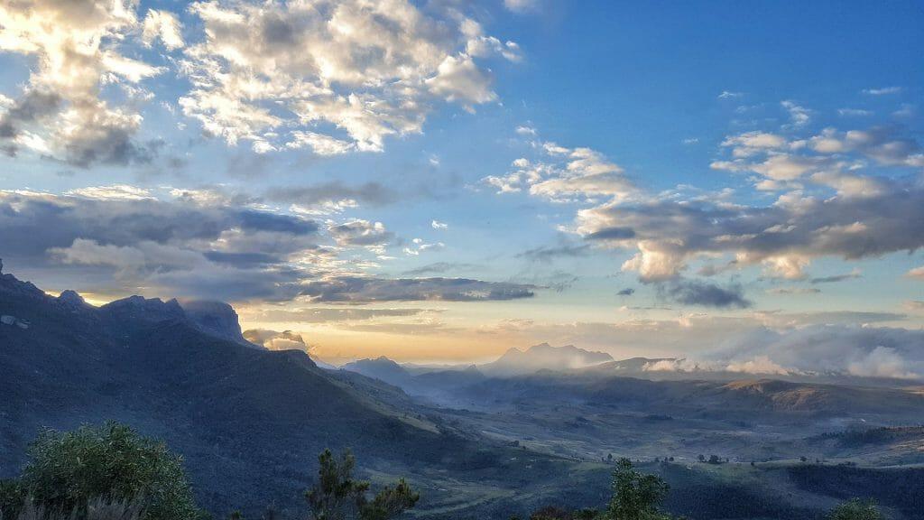Sunset, Andringitra National Park, Madagascar