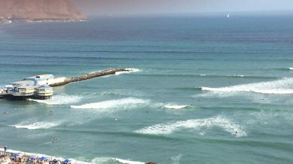 Surfing in Lima, Lima, peru