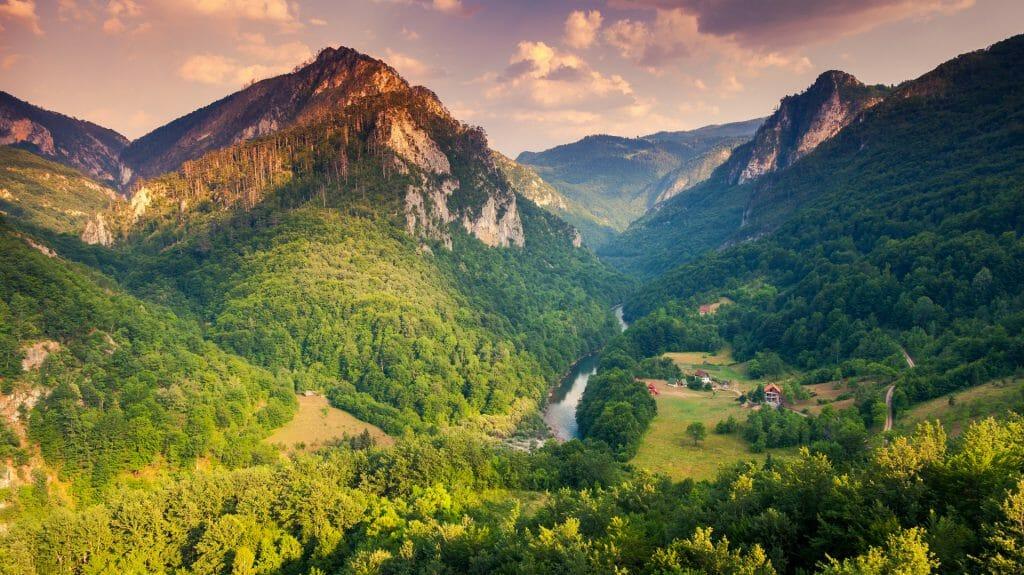 Tara Canyon, Montenegro, Croatia