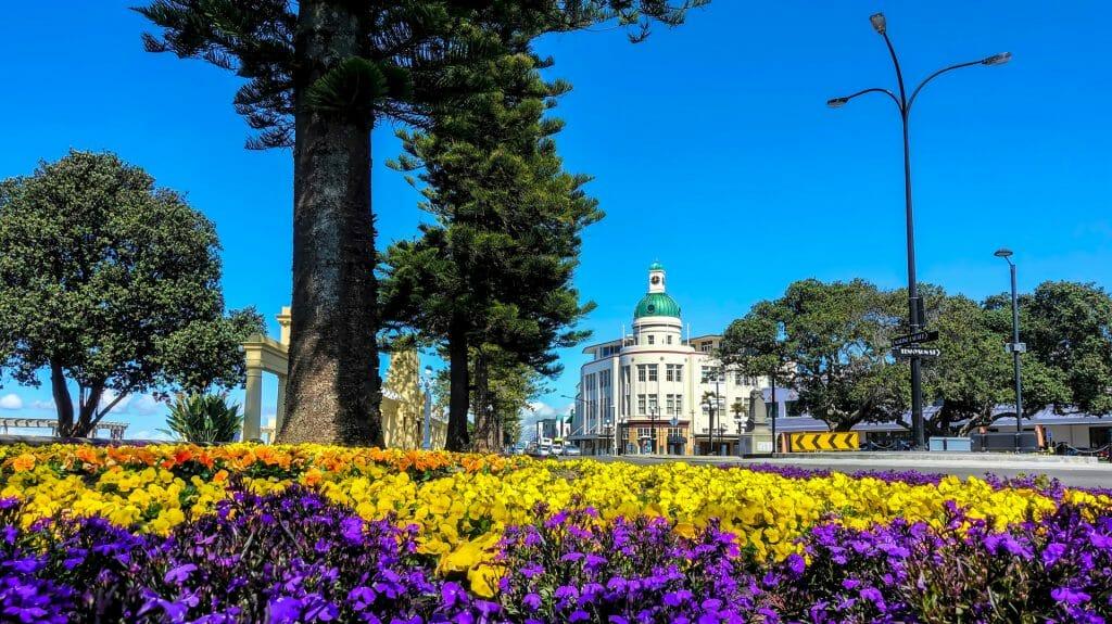 The Dome, Art Dec Architecture, Napier, New Zealand