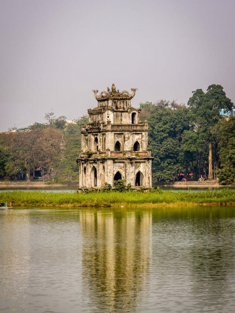 Tortoise Tower, Hanoi, Vietnam