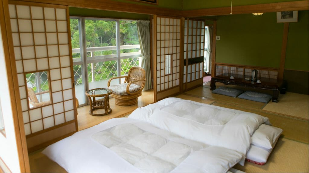 Traditional Ryokan Accommodation, Japan