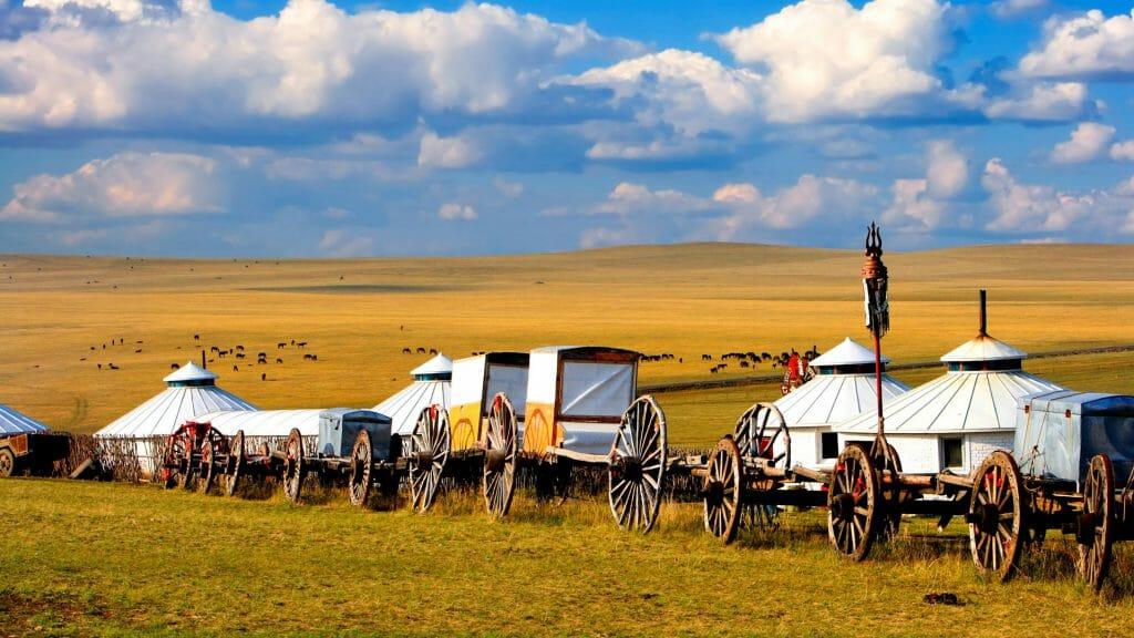 Transport for Nomadic lifestyle, Mongolia
