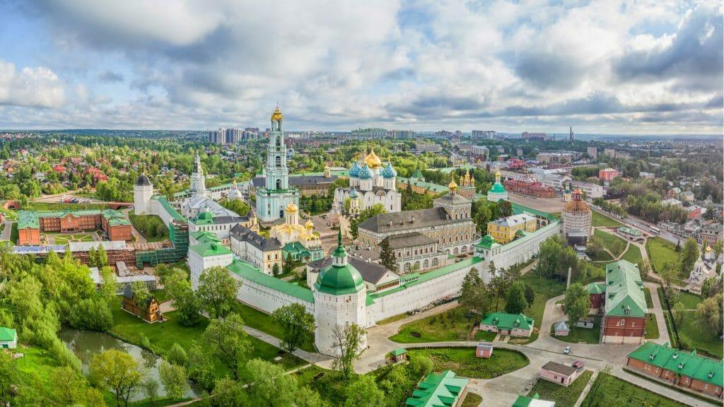 Trinity Lavra of St Sergius, Sergiev Posad, Moscow