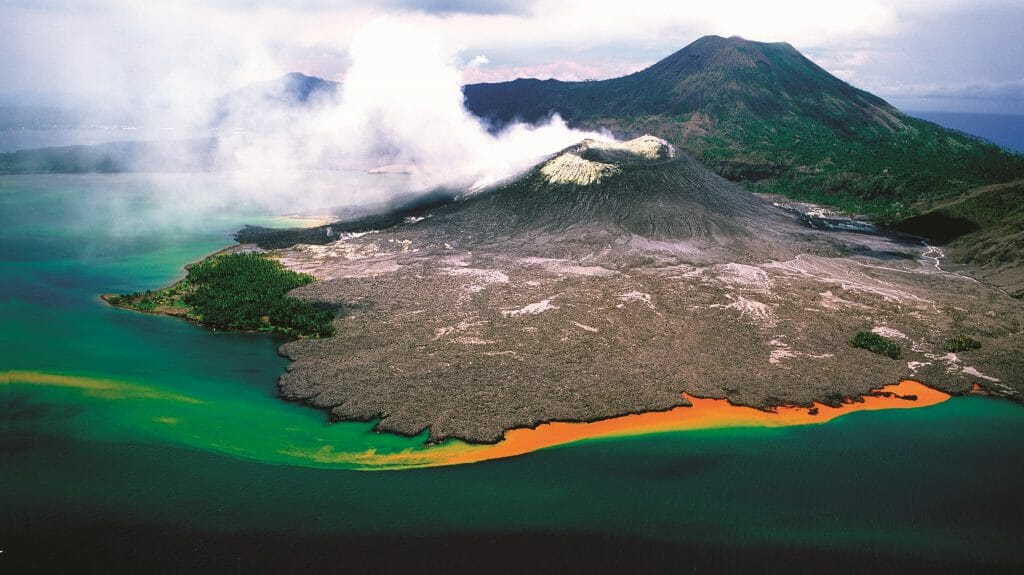 Volcano, Rabaul, Papua New Guinea