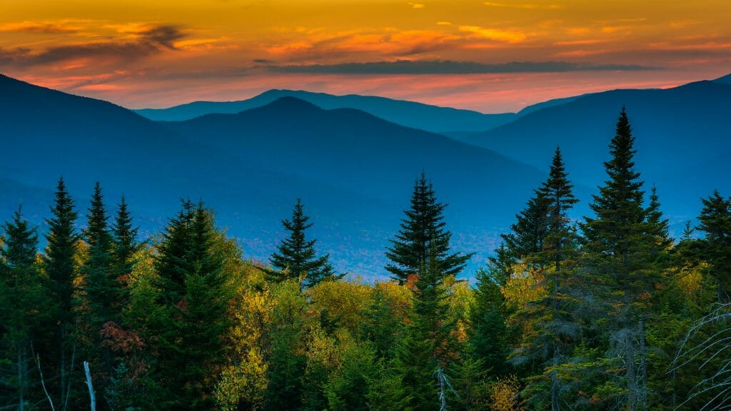 White Mountain National Forest, New Hampshire, New England, USA