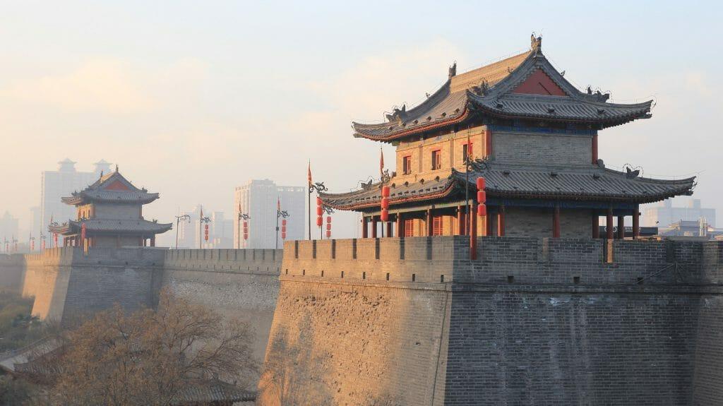 Xian City Wall, Xian, China