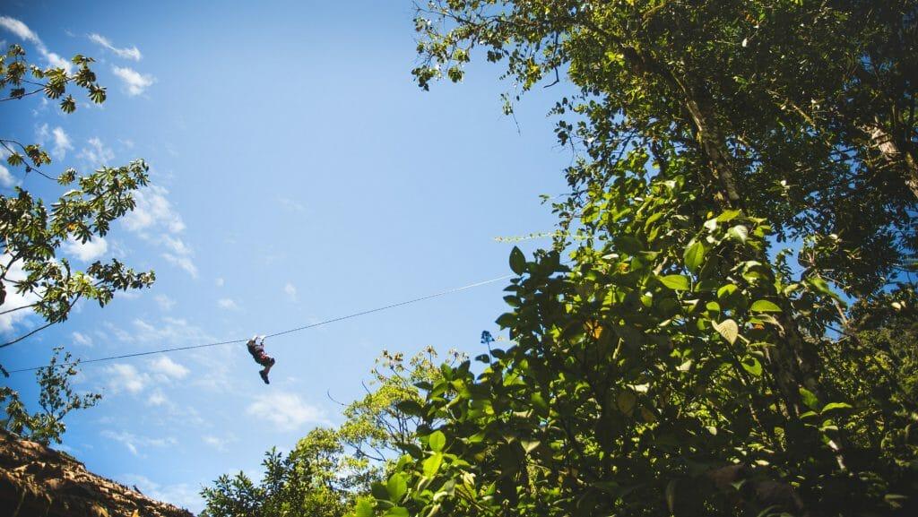 Zipline, Pacuare Lodge, Costa Rica