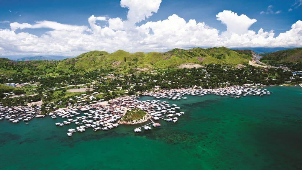 Aerial View, Port Moresby, Papua New Guinea