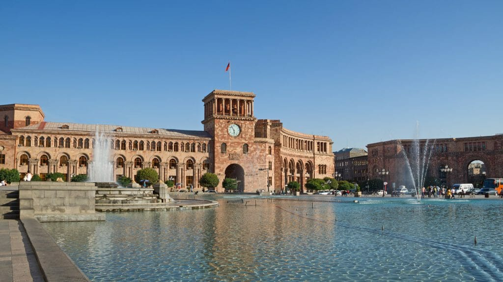 Central Plaza, Yerevan, Armenia