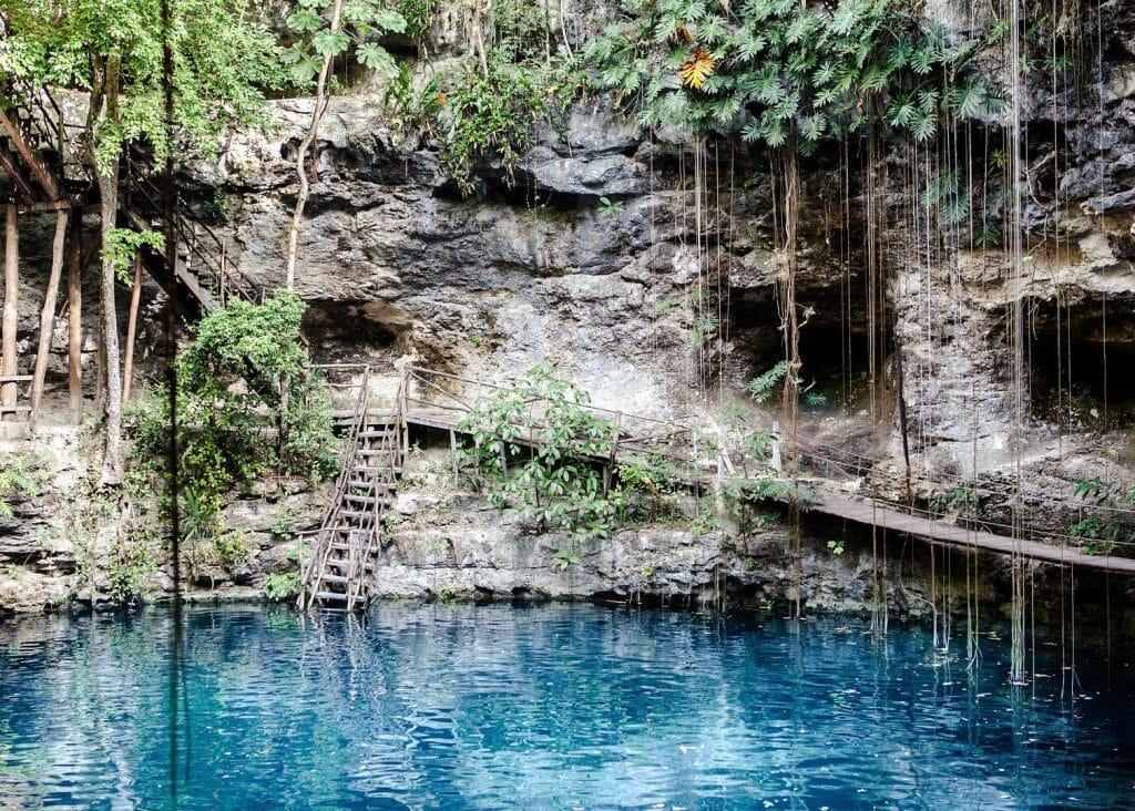 Crystal Clear Cenote, Riviera Maya, Mexico