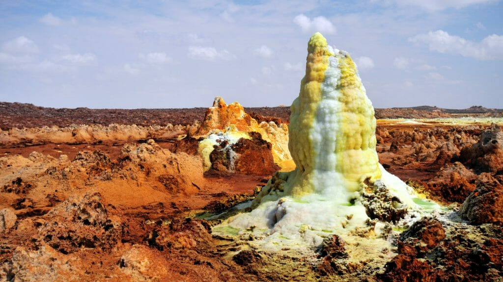 Dallol Volcano, Danakil Desert, Ethiopia