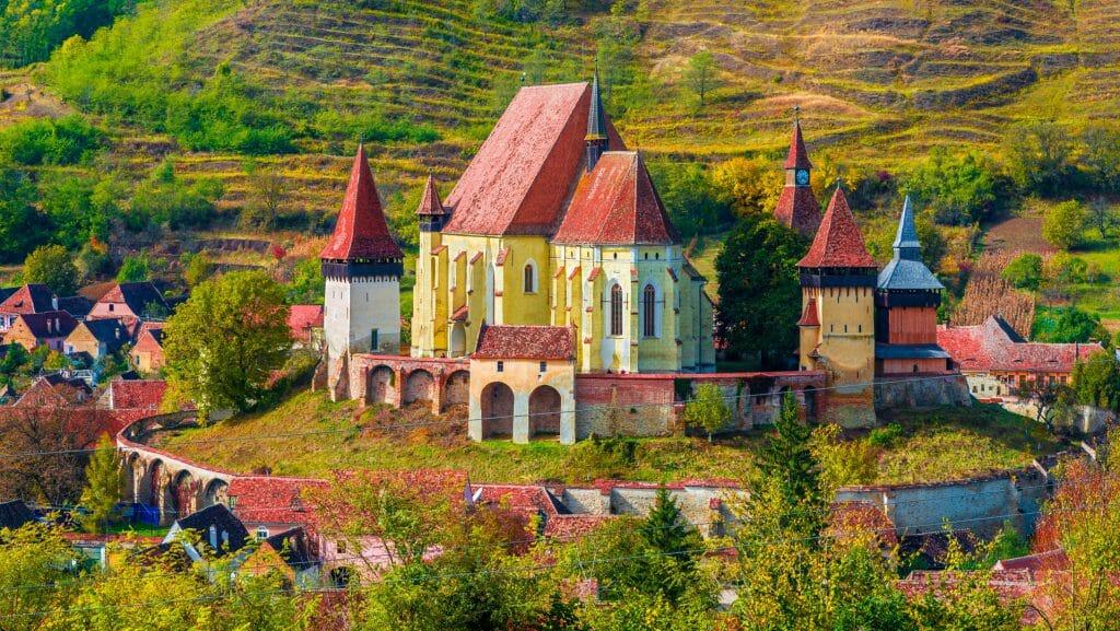 Fortified Chruch, Sibiu, Romania