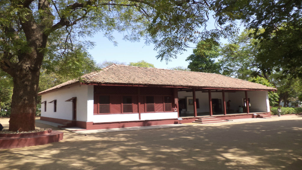 Gandhi Ashram, originally known as the Sabarmati Ashram, Ahmedabad, India