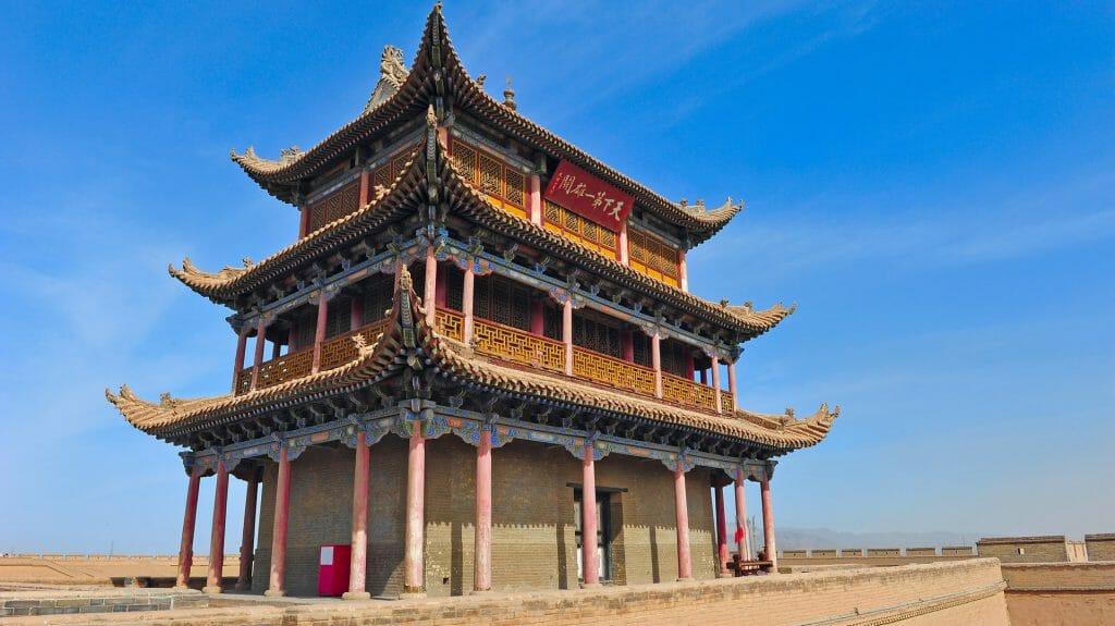 Gate Tower, Jiayuguan, China