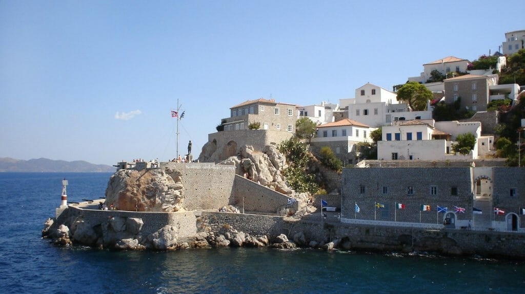 Hydra Harbour, Hydra, Greece