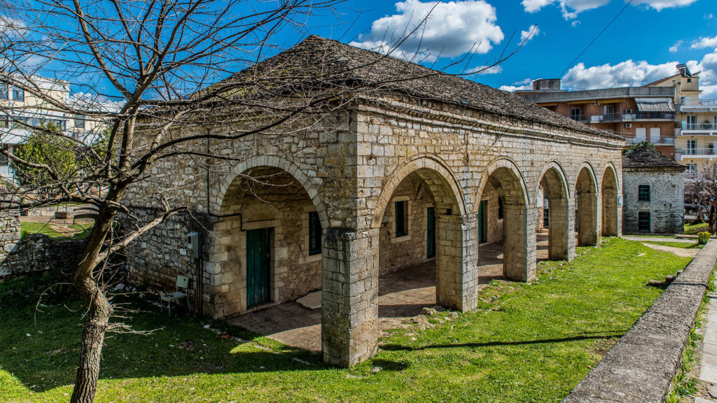 Cultural center of Ioannina city in Epirus, Greece