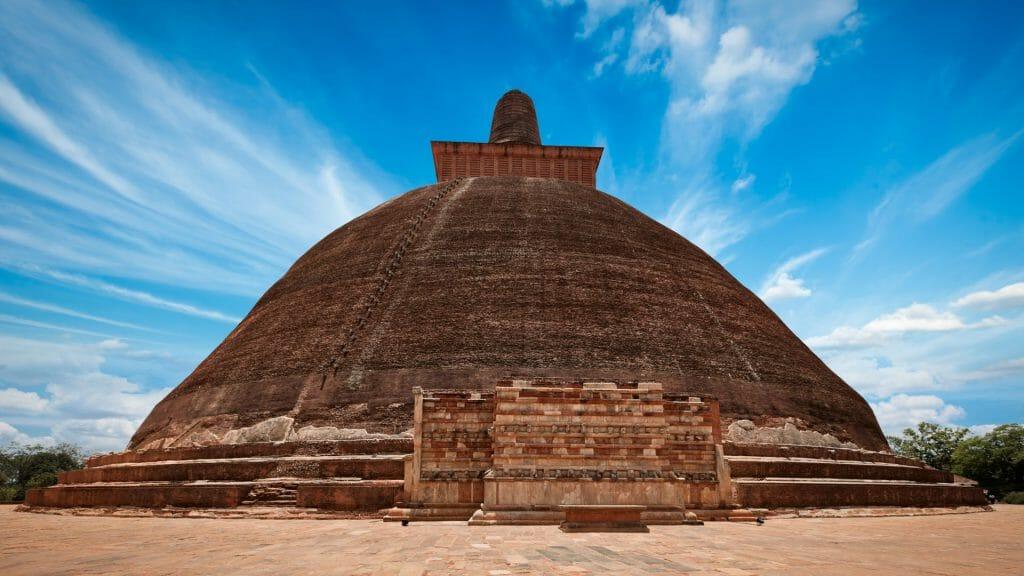 Jetavaranama Dagoba, Anuradhapura, Sri Lanka