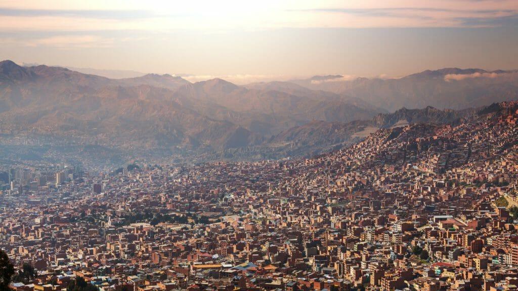 La Paz City, Bolivia