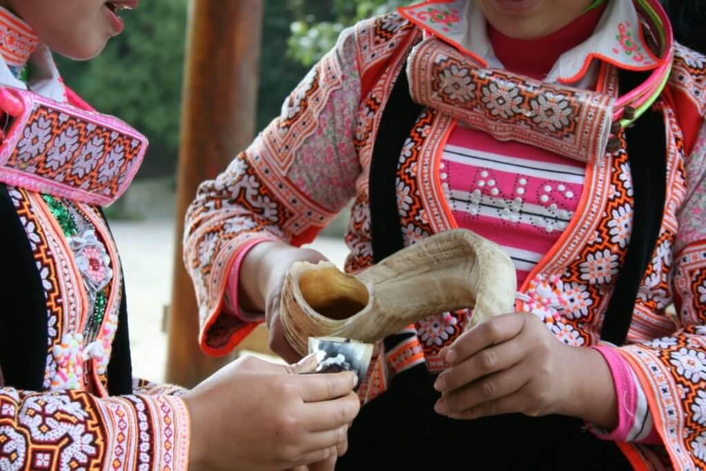 Longhorn Miao Ritual, Suoga Village, Guizhou, China