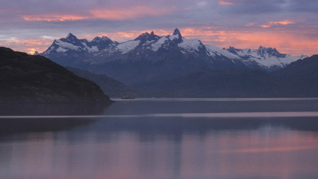 Mirador De Guidal Lake, Puerto Guadal, Aysen, Patagonia, Chile
