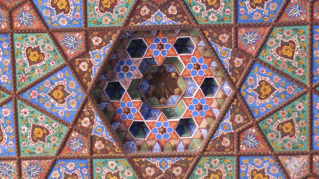 Museum of Applied Art of Uzbekistan ceiling, Tashkent, Uzbekistan