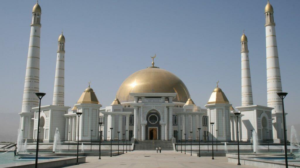Saparmurat Niyazov Mausoleum, Ashgabat, Turkmenistan