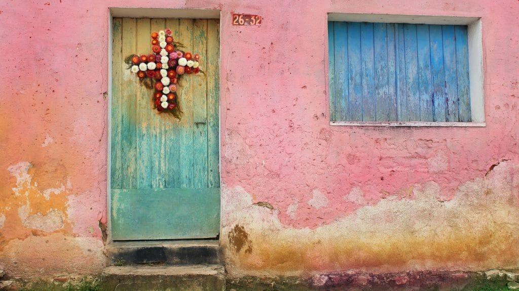 Shuttered Door, Guatemala City, Guatemala