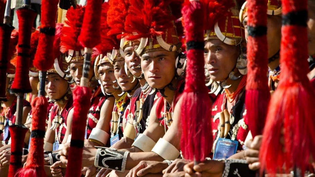 Tribes, Hornbill Festival, Nagaland, India