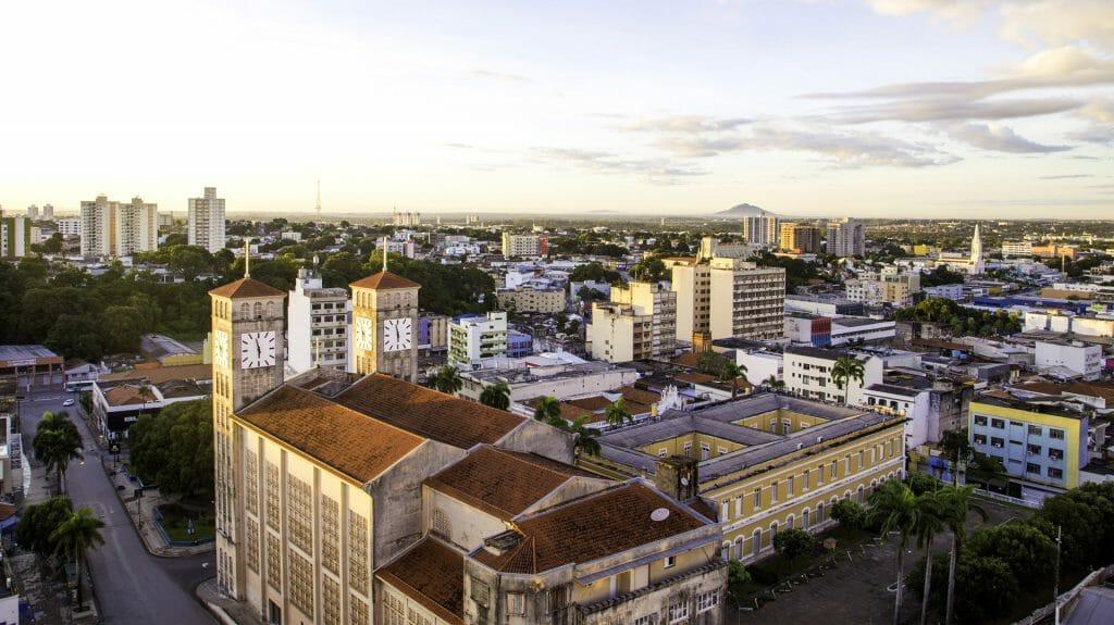 View of Cuiaba City, Cuaiba, Brazil