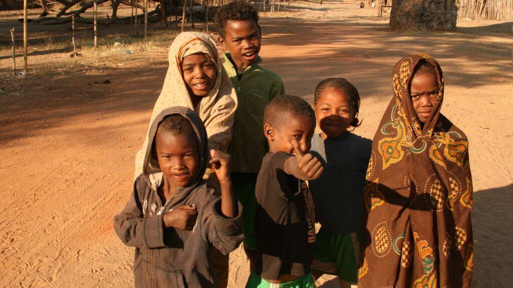 Village Children, Kirindy, Madagascar