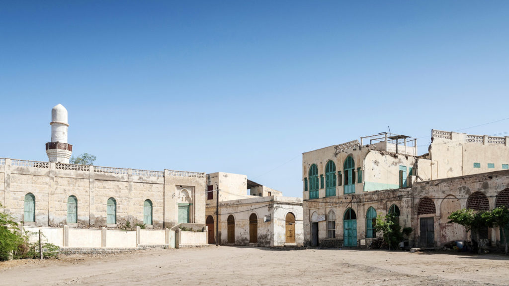 Architecture in Massawa, Eritrea