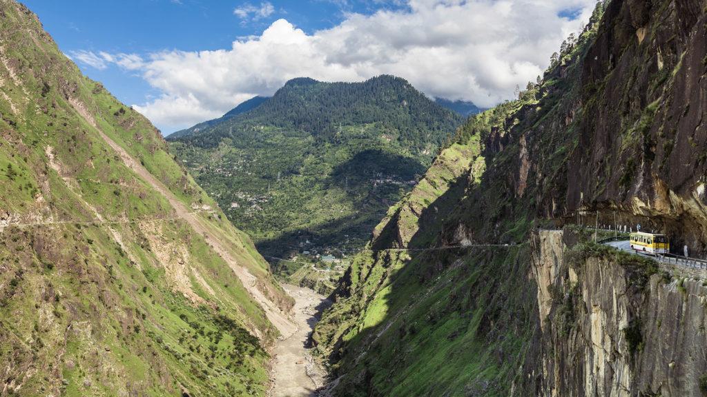 Hindustan-Tibet highway, India