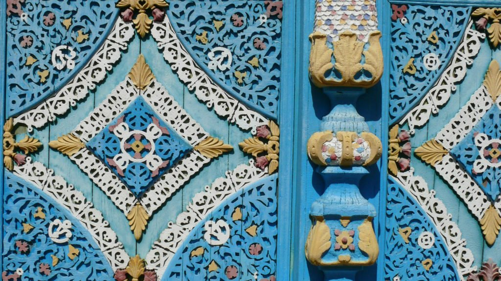 Decoration, Old Believer's House, Ulan Ude, Russia