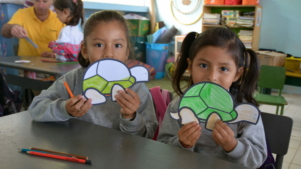 Galapagos Conservation Trust children drawing