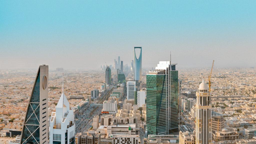 Riyadh Skyline, Saudi Arabia