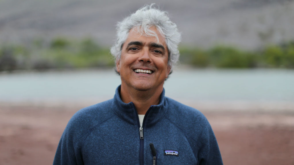 Roberto Plaza, Guide, Galapagos Islands