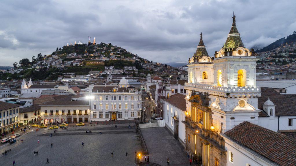 Square, Casa Gangotena, Quito, Ecuador