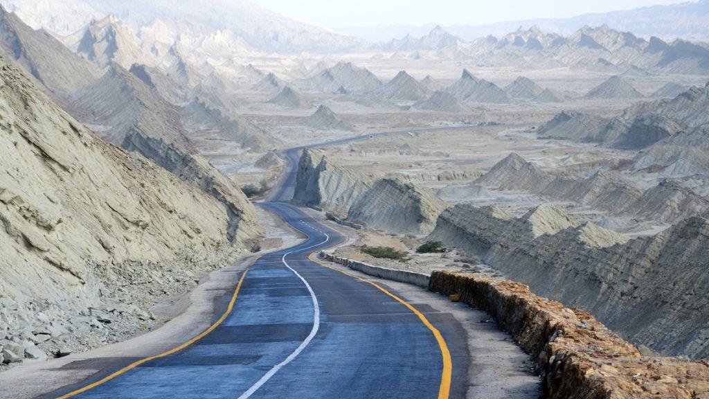 Makran Coastal Highway, Pakistan